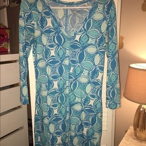 Lilly Pulitzer long sleeve t-shirt dress!