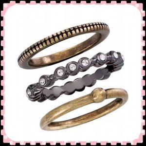 Silpada Jewelry - Silpada stacking rings