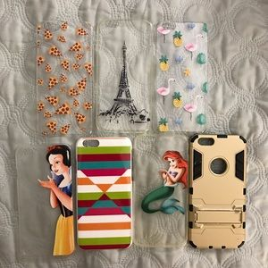 Accessories - iPhone 6 phone cases bundle