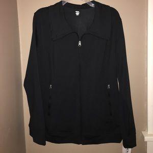 Jockey Jackets & Blazers - NWT Jockey P2P Black Active Jacket