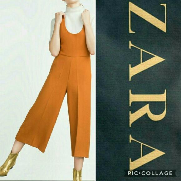 bb3698a5c23 ZARA Culotte Jumpsuit