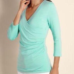 Soft Surroundings Tops - NWOT Soft Surroundings wrap top