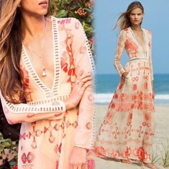 For Love And Lemons Dresses For Love Lemons Barcelona Maxi Dress Poshmark