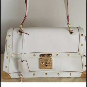 Louis Vuitton white Suhali Le Talentuex Bag