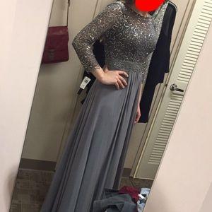 Grey Lord & Taylors dress