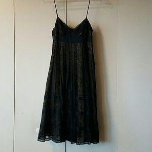 Betsey Johnson black lace dress