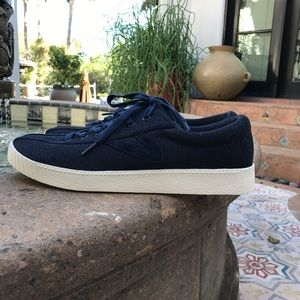 Tretorn Other - TRETORN NAVY JERSEY AND SUEDE MENS size 9.5