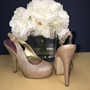 Madden Girl Shoes - Madden Girl glitter heel