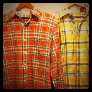 Izod Other - IZOD MENS Plaid Long Sleeve Shirts