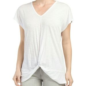 XCVI Tops - NWT, Knot Front Top