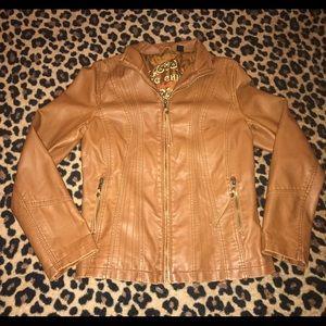 Big Chill Jackets & Blazers - Big Chill Leather jacket sz M