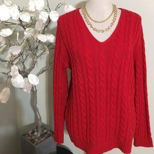 Ralph Lauren Sweaters - RALPH LAUREN PLUS SIZE SWEATER