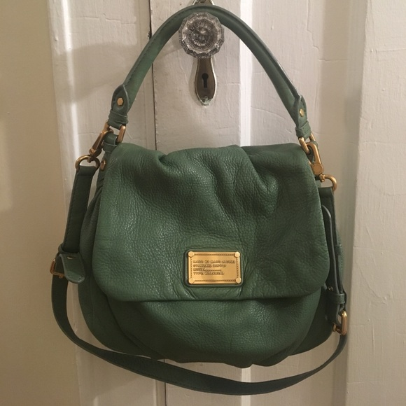 f7d2bfeec69 Marc by Marc Jacobs Bags | Pebbled Green Leather Bag | Poshmark