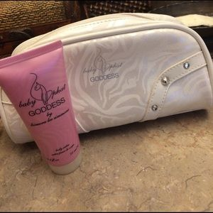 baby phat Other - Baby phat make up bag and body satin