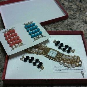 Kenneth Jay Lane Accessories - Kenneth Jay Lane bracelet watch
