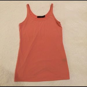 The Limited Tops - Peach Tank from The Limited