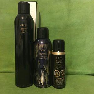 Oribe Other - Oribe Bundle:Hair Spray,Heat Styling Spray, Mousse