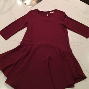 Cooper & Ella Burgundy Dress