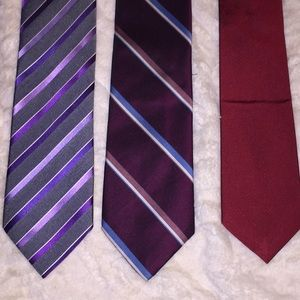 Other - Set of three ties