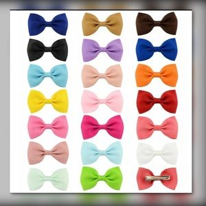 Other - 🌻Girls hair bows[10 bows assorted colors]🌻