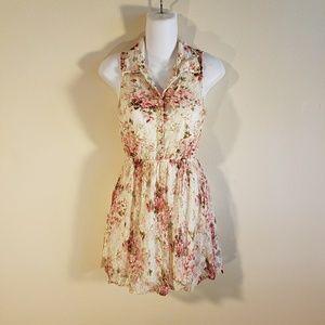 Wet seal Lace floral Dress