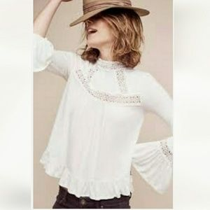 Anthropologie Tops - Anthropologie Swing Blouse