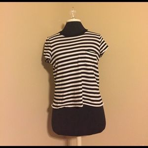 Madewell Striped Top with Pocket