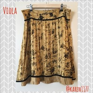 Anthropologie Dresses & Skirts - 💥Today Only✨Anthropologie Viola Silk Skirt✨