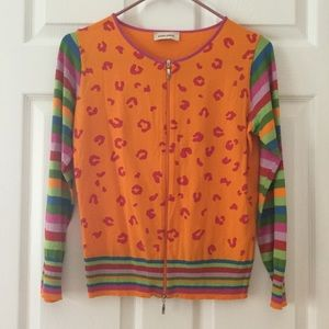 Italian Sequined Rainbow Sweater