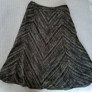 Jones New York Dresses & Skirts - ⬇JONES NEW YORK CHEVRON PRINT SKIRT 14