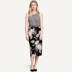 Who What Wear  Dresses & Skirts - Floral Midi Skirt