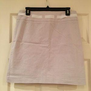 Grace Elements Dresses & Skirts - Light Blue Pinstriped Pencil Skirt