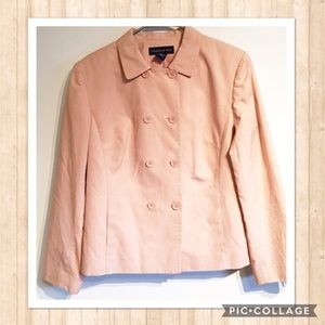 Preston & York Jackets & Blazers - Preston & York Double Button Blush Jacket