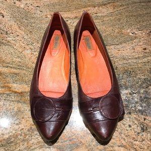 Miz Mooz Shoes - Miz Mooz Brown Leather Flats
