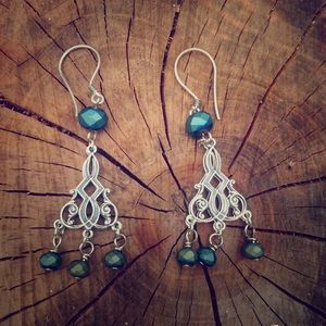 AriGrl Jewelry - Antique Sterling Silver Earrings 🌟PRICE FIRM 🌟