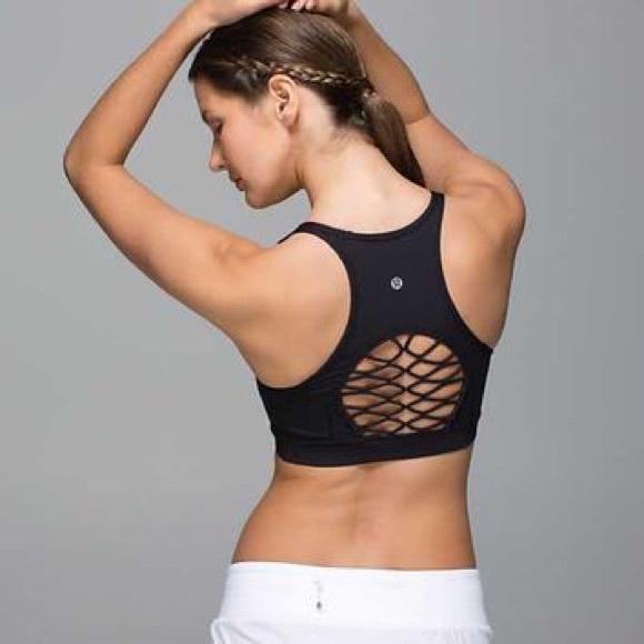 5a1826ba6c0e9 lululemon athletica Other - NWOT LULULEMON Sweaty or Not Bra II - Sz 4 -  Black