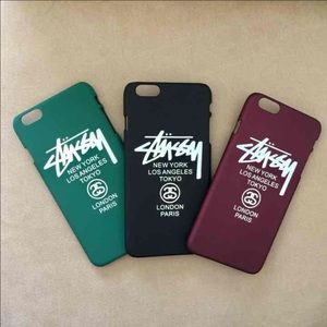 Stussy Accessories - Stussy Matte Cases iPhone 6/6s and iPhone 6 Plus