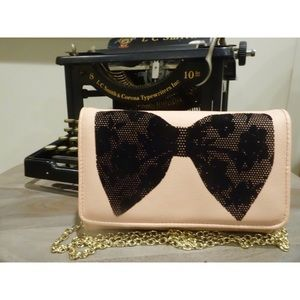 ‼️SALE‼️ Betsey Johnson wallet-style cross-body