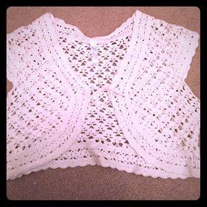 Calypso St. Barth Other - White shrug sweater