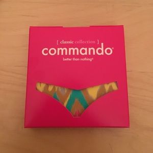 Commando Other - Printed Commando thong
