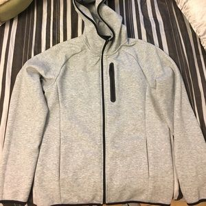 Uniqlo Other - Uniqlo Dry stretch Long sleeve sweat full zip hood