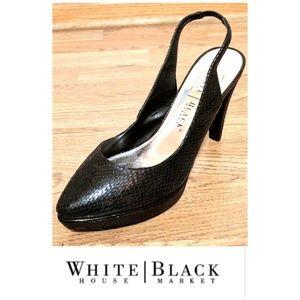 🔥NEW Platform White House Black Market heels