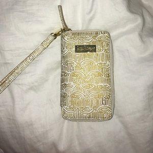 Lilly Pulitzer Handbags - Lilly Pulitzer Gold Wristlet