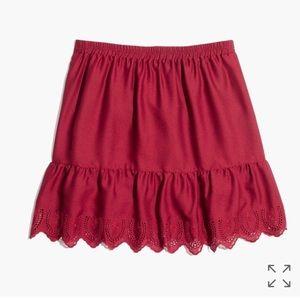 Madewell Dresses & Skirts - SALE ❗️Madewell Duskaway Eyelet Skirt - NEW!