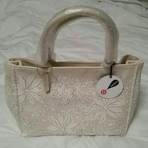 Neiman Marcus Handbags - Neiman Marcus + Target Coated Canvas Tote