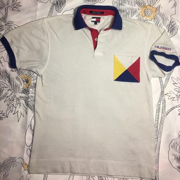 567934b0 Tommy Hilfiger Shirts | Vintage Polo Style Shirt X 90s | Poshmark