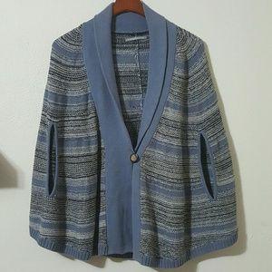 rubbish Nordstrom Single Button Cape Knit Sweater