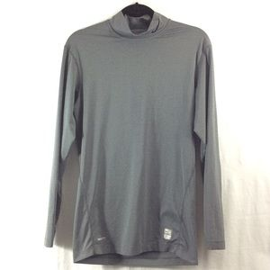 Nike Other - NWOT Nike Pro Tight grey long sleeve muscle shirt
