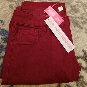 refuge Pants - New with tag maron stretchy pants