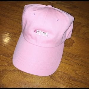 HUF Accessories - HUF DAD HAT PINK W/ EMBROIDERED FLORAL UNISEX